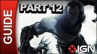 Darksiders II Walkthrough - The Lost Temple (3 of 3) - Part 12(Part 12 of IGN's video Walkthrough for Darksiders II continue's through the the Lost Temple Dungeon leading to the reveal of the boss, Construct Hulk., 2012-08-15T20:40:39.000Z)