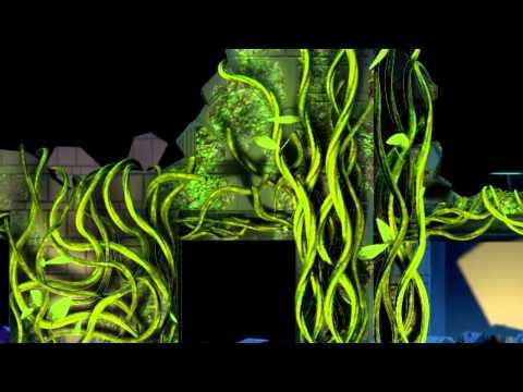 NuFormer, 3D video mapping - Yokohama Museum of Art, Tokyo, Japan - April 2011