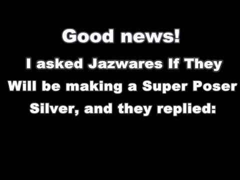 Sonic Figure Update - Super Poser Silver?