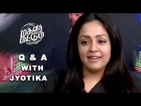 #Jyotika Q & A From All Her Fans On Facebook | Magalir Mattum