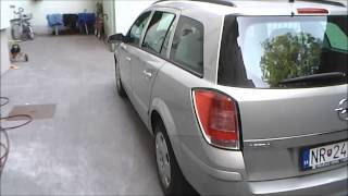 2007 Opel Astra Caravan 1,6i Ecotec Twinport - Walkaround, Start Up, Interior, Exterior in HD