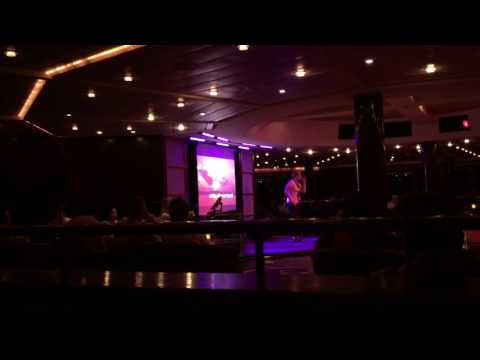 Rolling in the Deep (Karaoke night @ Celebrity Infinity)