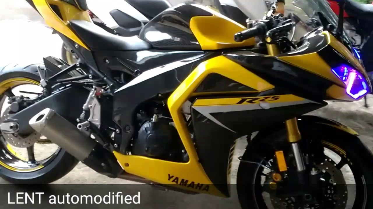 Yamaha r25 with body kit fullset by lent automodified youtube