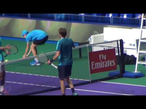 Alexander Bublik - Albert Ramos - ATP, Kremlin Cup - match ball