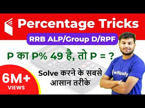 Percentage In Maths | Percentage Calculator Trick जाने  सभी सवालों के Answer I Day#20