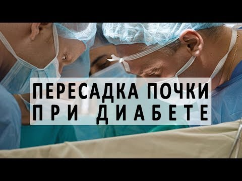 Пересадка (трансплантация) почки при сахарном диабете