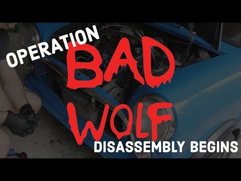 Classic Mini DIY - Operation Bad Wolf Begins