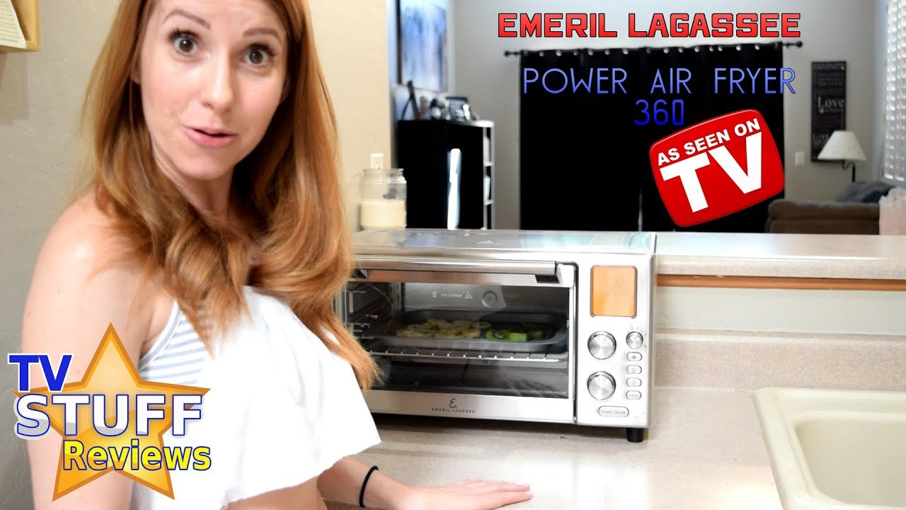 Emeril Air Fryer 360 Review Wow It S Loud Youtube