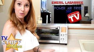 Emeril Air Fryer 360 Review: WOW it's Loud!