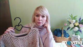 Gambar cover Вязание. Готовые работы марта. Анонс  видео. Knitting//Finished work.