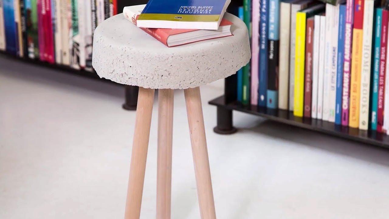 project tutorial beistelltisch aus beton selber bauen youtube. Black Bedroom Furniture Sets. Home Design Ideas