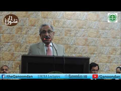 Introductory Lecture on Criminal Trial by Justice (R) Kazim Ali Malik