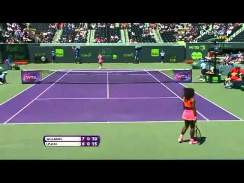 HD Serena Williams vs Sabine Lisicki Highlights MIAMI 2015