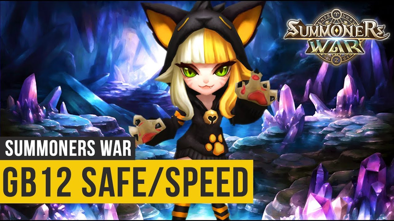 Gigante B12 - Time Speed Safe Farmável (1:20m) - Summoners War