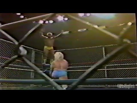 NWA Worldwide Wrestling 9/26/87 Ric Flair vs Ron Garvin Cage Match