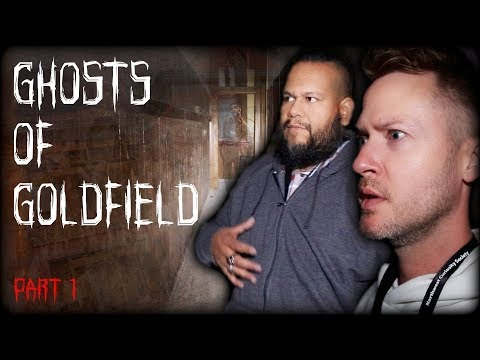 Extremely Haunted Schoolhouse...GHOSTS OF GOLDFIELD