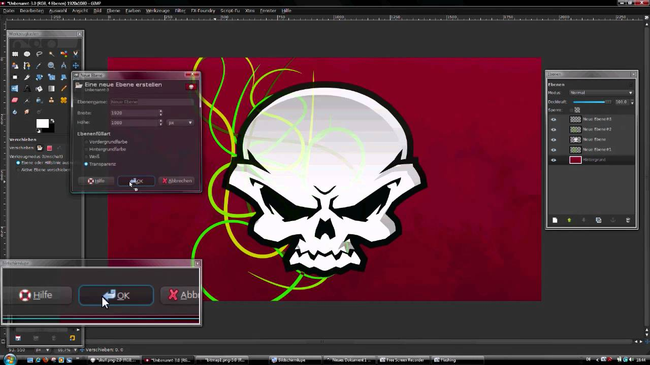 Gimp Inkscape Tutorial German Youtube