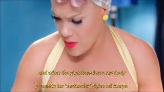 P!nk - Beautiful Trauma (Sub Español - Lyrics) [Official Video]