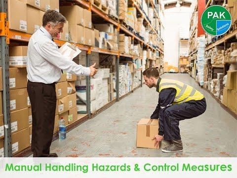 What is Manual Handling? Hazards & Control Measures [in URDU]