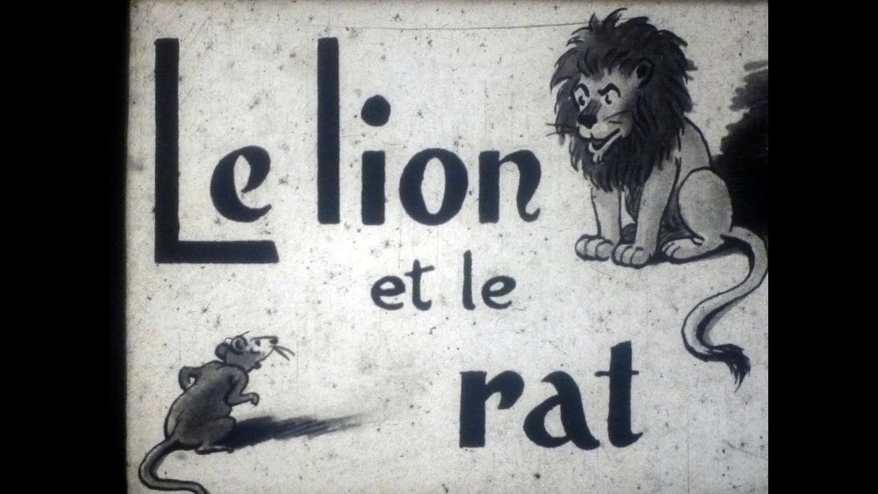 Le lion et le rat youtube - Image le lion et le rat ...