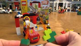 Lego Set 10661 My First Lego Fire Station Review