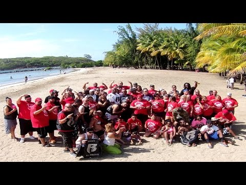 PUERTO RICO RUFF RYDERS BEACH PARTY  2015