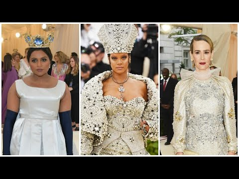 Met Gala 2018: Rihanna and 'Ocean's 8' Cast Steal the Show in Stunning Looks