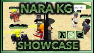 NARA KG SHOWCASE!| NARA VS TENSEIGAN!! | ROBLOX Naruto RPG: Beyond |