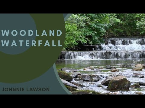 Relaxing Nature Sounds Of A Soothing Waterfall With Forest Bird Song-Calm Relaxation & Sleeping