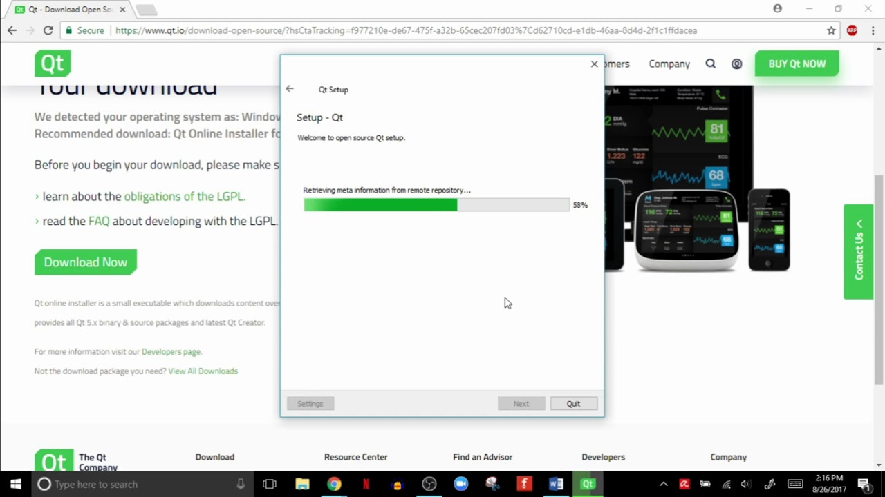 qt 5.8 mingw 64 bit download