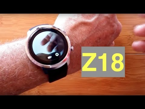 Z18 LONG LIFE Android Smartwatch: Unboxing & Review