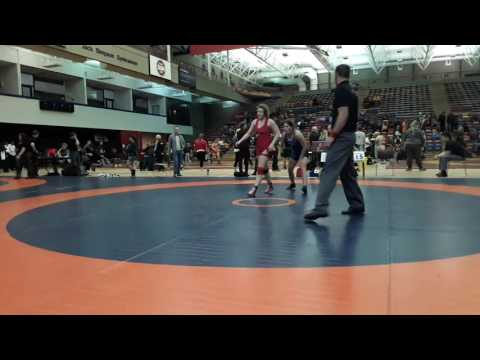 2016 Dino Invitational: 59 kg Morgan Hill vs. Jennifer Anderson