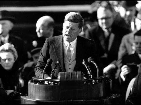 JFK Inaugural Address with the music of Mark O