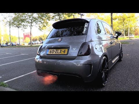 ABARTH 595 STAGE 4 w/ CAPRISTO EXHAUST – POP & BANGS + FLAMES!