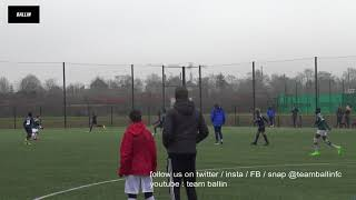 2018 01 27 U13 ELITE BLANC MESNIL vs RED STAR