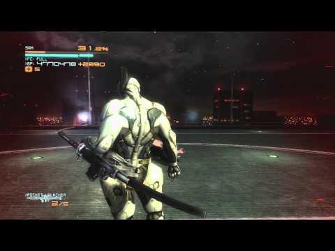 Metal Gear Rising Revengeance: Jet Stream Sam vs The Senator