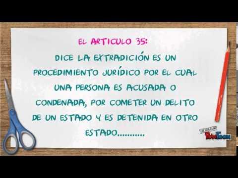 Articulo 36 constitucion mexicana yahoo dating 2
