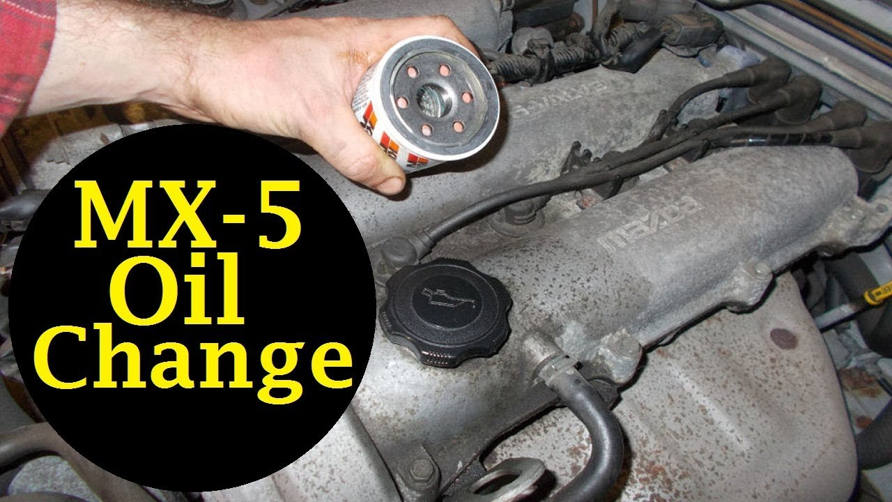 small resolution of mazda mx 5 oil change and oil filter change