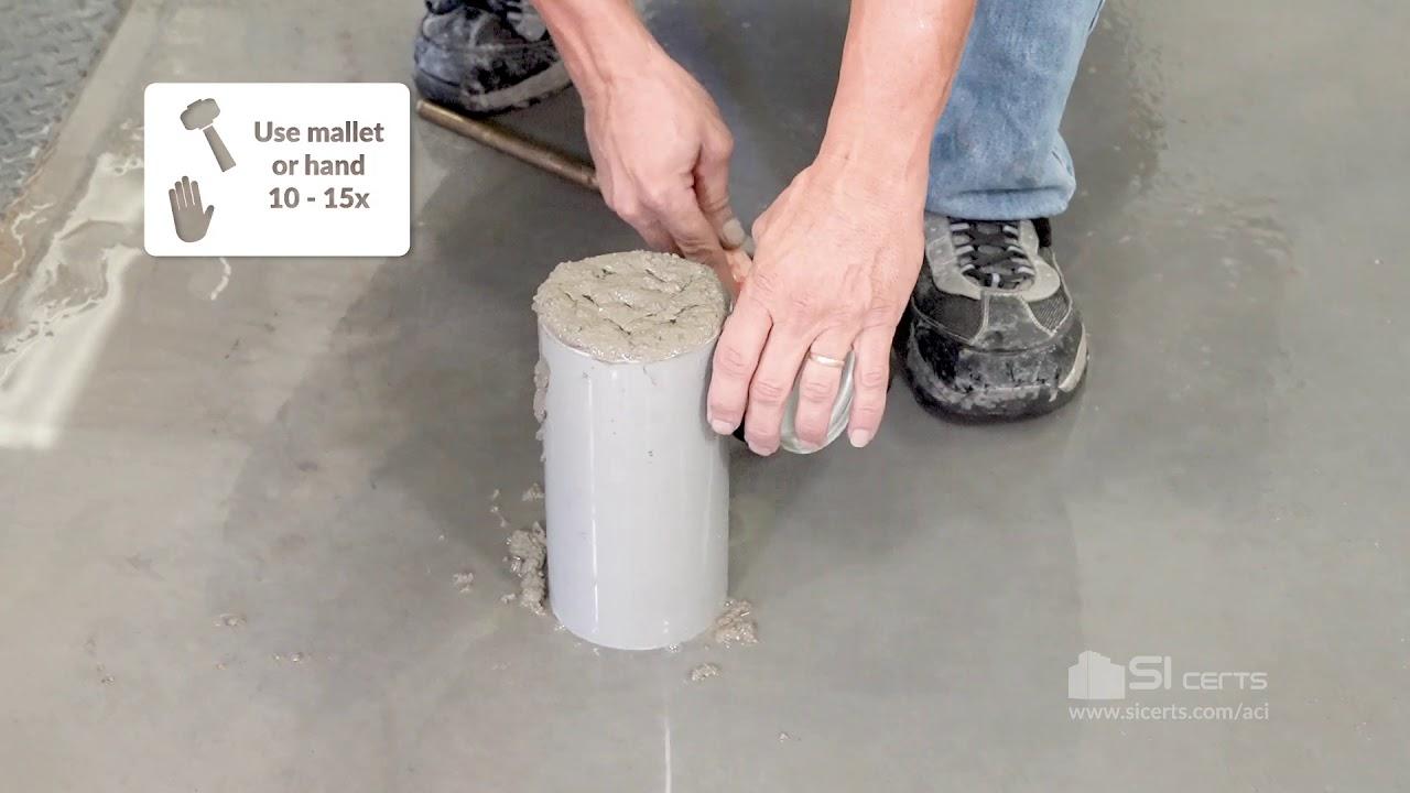ASTM C31 - ACI Making and Curing Concrete Test Specimens