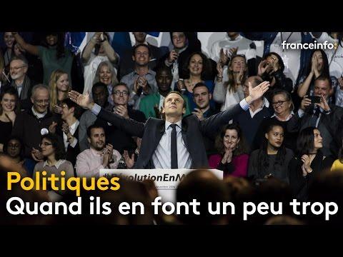 Juppé, Royal, Valls, Macron, quand les poltiques en ont fait un peu trop - franceinfo:
