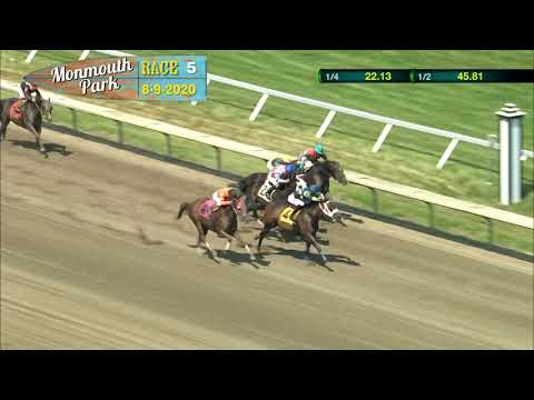 video thumbnail for MONMOUTH PARK 08-09-20 RACE 5