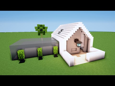 Minecraft tuto comment faire une maison moderne map youtube - Comment faire une maison de luxe dans minecraft ...