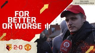 STICK WITH THE REBUILD? Watford 2-0 Manchester United | Premier League Fan Cam