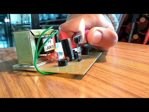 How to make Fire Alarm Circuit Electronics mini project - YouTube