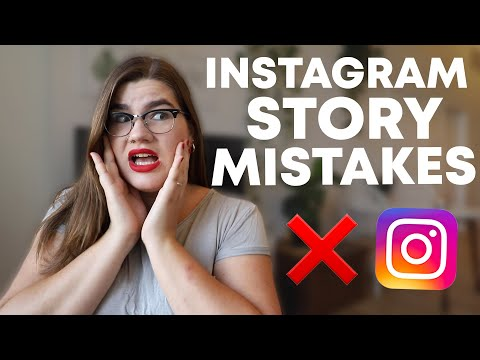 Don't Make These Instagram Story Mistakes!