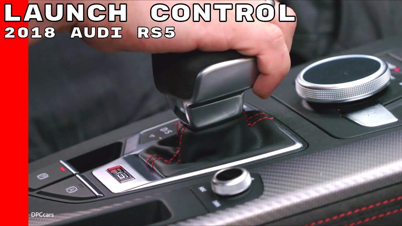 2018 Audi Rs5 Launch Control Youtube