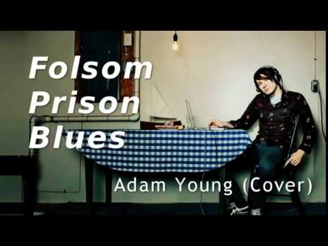 Folsom Prison Blues - Adam Young [Owl City] (Cover) Lyrics [CC]