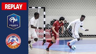 Futsal Euro 2022 Armenie France 4 4 le replay