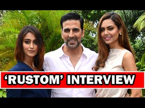 Akshay Kumar, Ileana D''Cruz, Esha Gupta Talk On ''Rustom'' | Interview | Full Movie
