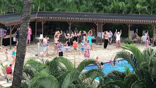 Dancing at the Pool (Kamaole Sands, Kihei, Feb 5, 2020)